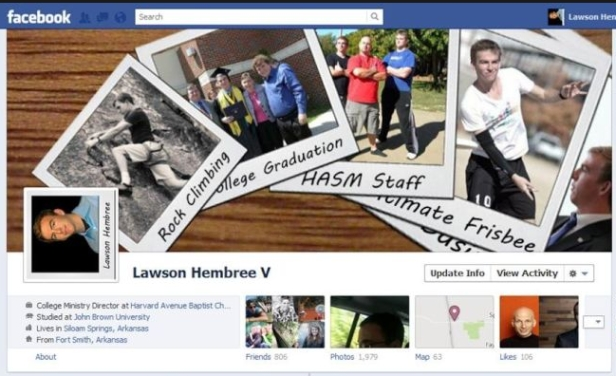 Facebook Cover Design - Lawson Hembree V - Pictureboard