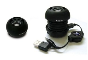 X-mini capsule speaker : with dynamic sound