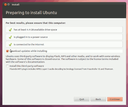 How to install Ubuntu on yout Computer complete Tutorial -  Choosing the type of installation