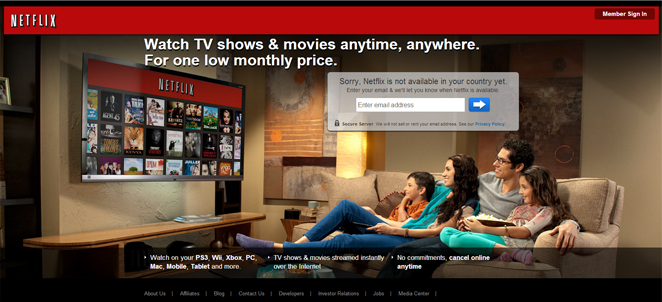 netflix : wath TV show and Movies Anytime Anywhere