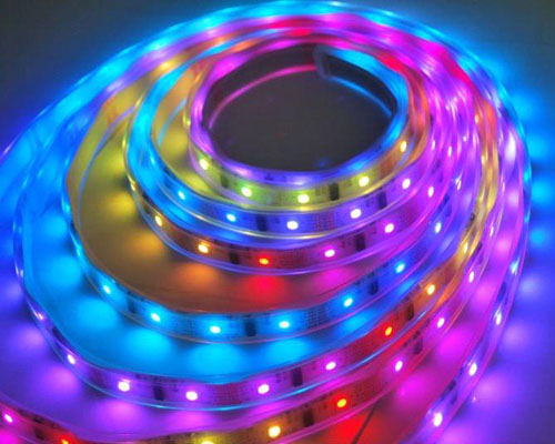 Magic RGB LED Strip with IC and Control - 5M