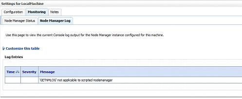 Nodemanger description log
