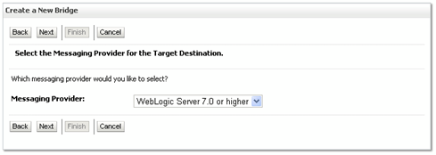 remote destination weblogic