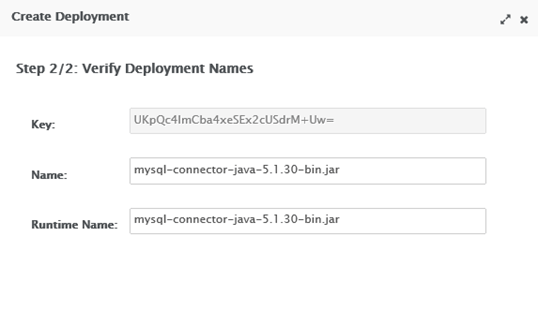 JBoss WildFly Datasouce Creation