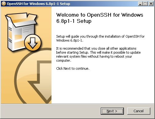 Windows OpenSSH server Installation