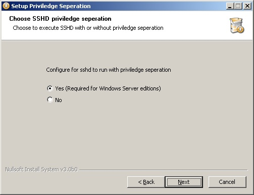 windows ssh server install