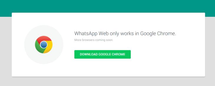 only-chrome-whatsapp