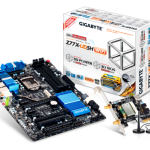GIGABYTE Z77X-UD5H-WB WiFi Unboxing and Preview