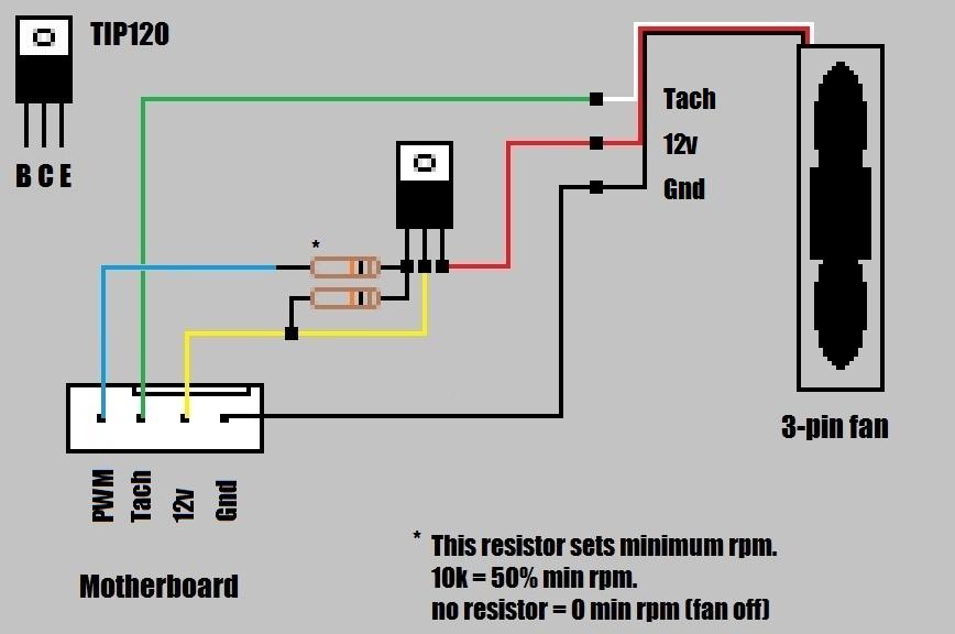 pc 3 pin fan wire diagram