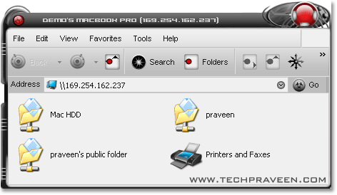 Shared Folders Of Mac Operating System