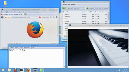 WinAte - Windows 7 & 8 Transformation Pack for Ubuntu and Debian 8