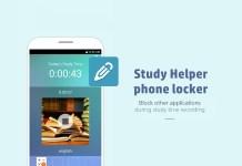 Study helper - Phone locker