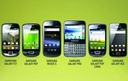 New Samsung Android phones in India - TechShout