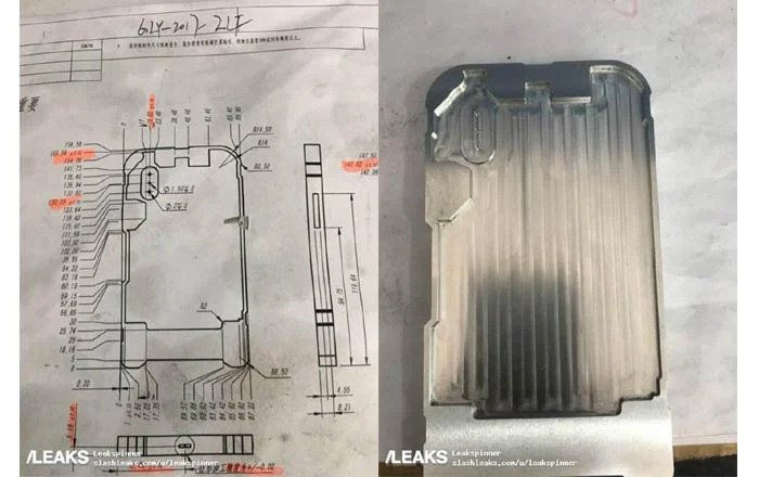 iPhone 8 diagram, CNC mold leaked - TechShout