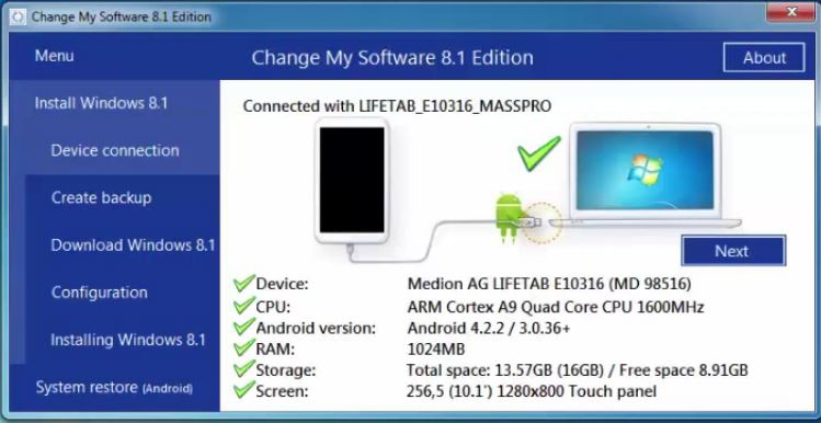 software for android tablet free download