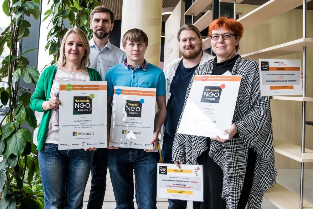 Microsoft Czech Republic NGO Awards Announces Winners - TechSoup