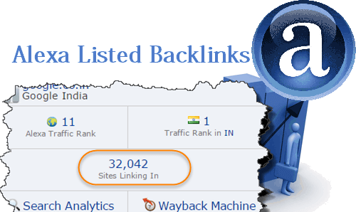 Alexa-backlinks-list