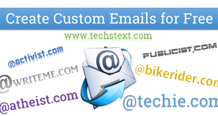 Get free custom Email address of @engineer,techie. com+150 other