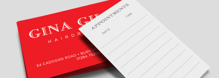 Appointment Cards for Business in Ireland