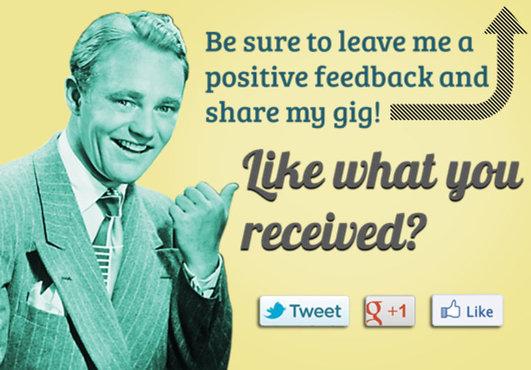 Increase Fiverr sales positive feedback