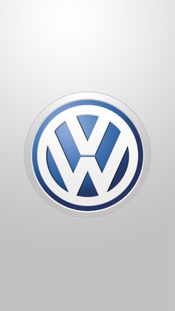 wallpapers for iPhone 5 - Volkswagen Logo