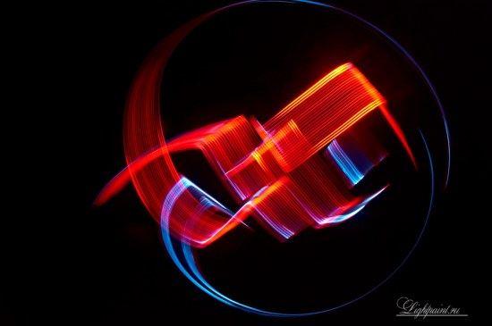 Light Painting calligraphy (5)