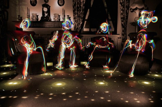 disco - Light Painting Photography