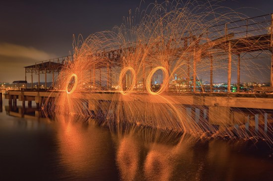 rings - Light Painting Photography