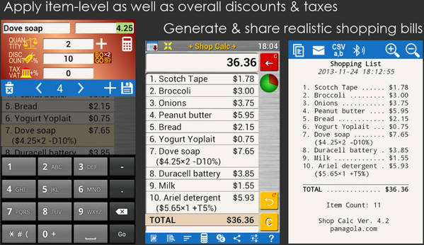 Get 8 FREE shopping list apps for Android - Shopping List And Prices