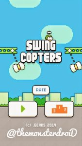 make high score in swing copter