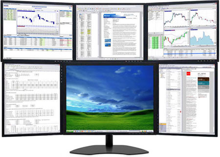 Video Wall and Multi-Monitor Display Solutions - multi screen display