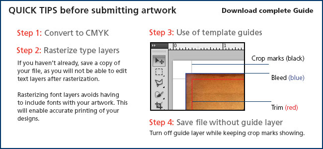 Tips for creating artwork for CD or DVD label and jewel case inserts