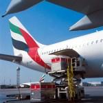 Emirates SkyCargo loading