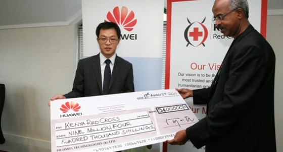 Huawei Kenyans for kenya initiative
