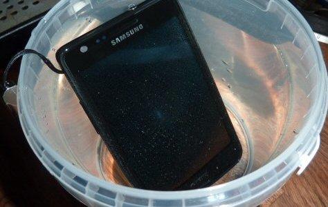 Wet Samsung Galaxy S 2