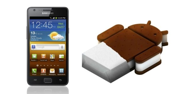 ICS Galaxy S II