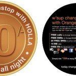 Holla Orange for ten bob