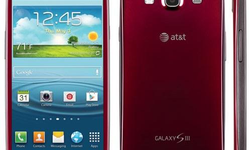 Galaxy S III Garnet Red