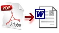 PDF to Word