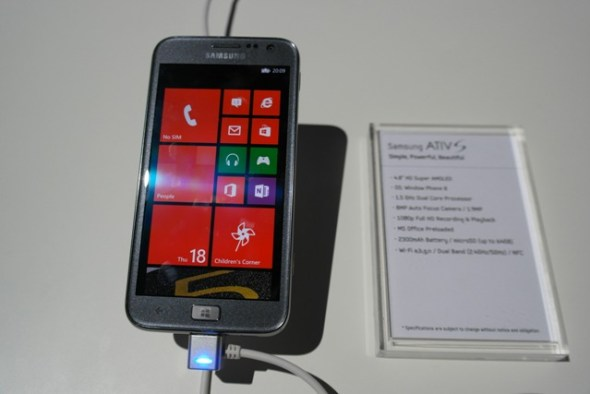 ATIV S Front