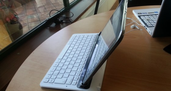 Galaxy Note 10.1 Keyboard dock