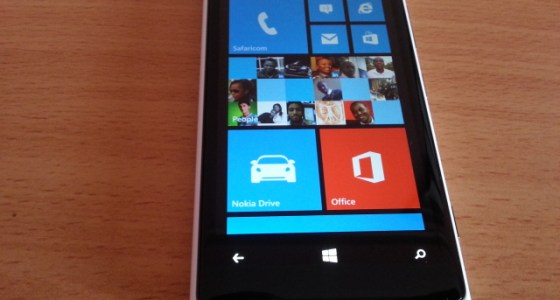 Nokia Lumia 920 home
