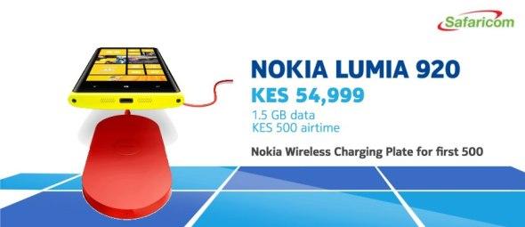 Nokia Lumia 920 Safaricom offer
