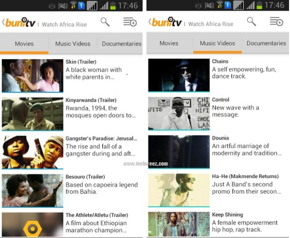 Buni Tv Android App