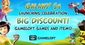 Gameloft Galaxy S 4 promo