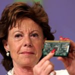 European commissioner for competion, Dutch,  Neelie Kroes