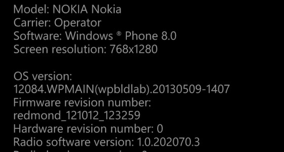 wp8 settings
