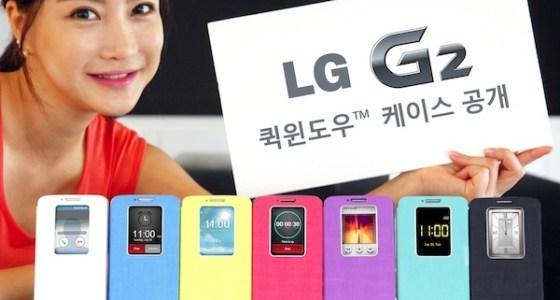 LG G2 Quick Windows Cases