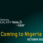 Galaxy Note 3 Up For Pre-order in Nigeria