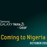 Galaxy Note 3 pre-orders Nigeria
